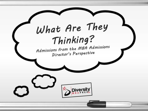Video - What are Admissions Officers Thinking